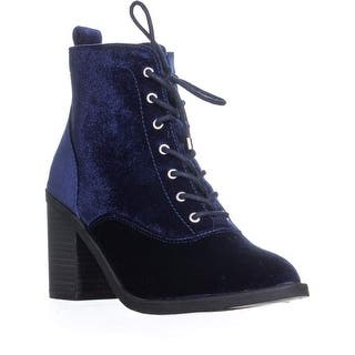 e56b8eb07bc5 Material Girl Womens Landrey Booties Faux Suede Shoes · Quick View