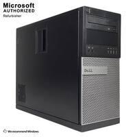 Dell 7010 TW Intel Core i5 3470 3.20GHz, 12GB RAM, 240GB SSD, DVD, WIFI, BT 4.0, VGA, HDMI DP, WIN10P64(EN/ES)-Refurbished