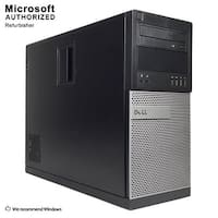 Dell OptiPlex 9020 Tower Intel Core I5 4570 3.2GHz 8GB RAM 1TB HDD DVDRW W10P(EN/ES)-1 Year Warranty(Refurbished)