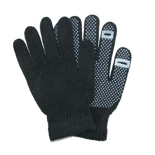 CTM® Grip Knit Texting Winter Gloves