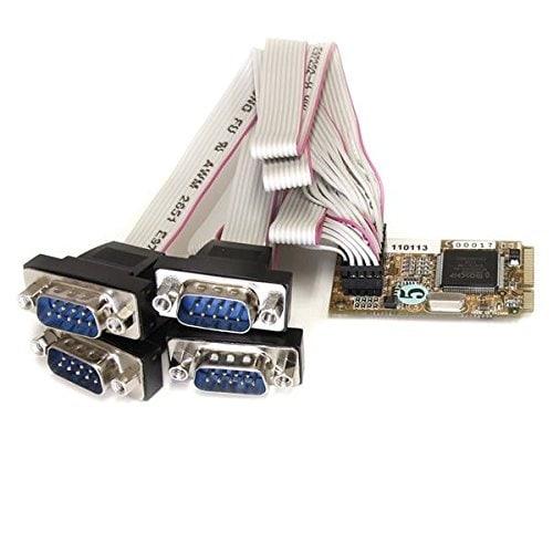 Startech Mpex4s552 4 Port Rs232 Mini Pci Express Serial Card W/ 16650 Uart