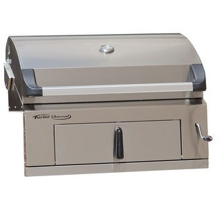 Barbeques Galore 2017 Turbo Charcoal Built-In Grill
