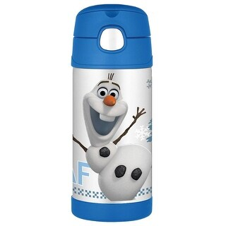 Thermos Funtainer Insulated 12 Ounce Bottle, Disney Frozen Olaf