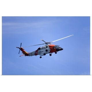 """""""Coastguard helicopter"""" Poster Print"""