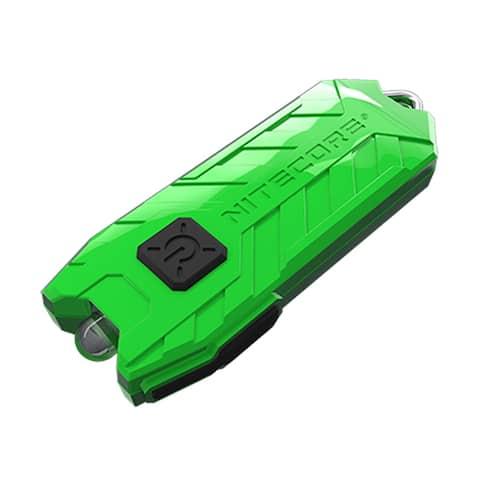 NITECORE TUBE v2.0 55 Lumen USB Rechargeable Keychain Flashlight Green