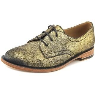 John Fluevog Hadfield Round Toe Leather Oxford