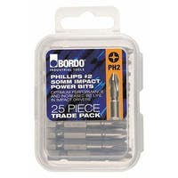 Bordo 5405-PH2X50TP 50 mm Impact PH2 Set - 25 Piece