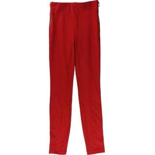Link to I-N-C Womens Zip Side Casual Leggings, red, 0 Similar Items in Pants