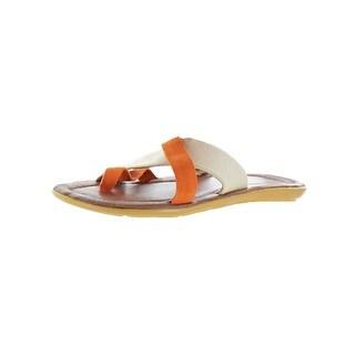 Donald J. Pliner Mens Hafiz Flip-Flops Padded Insole Slide - 11 medium (d)