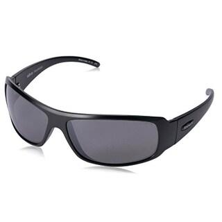 Revo Eyewear Sunglasses Gunner Matte Black with Graphite Polarized Lenses
