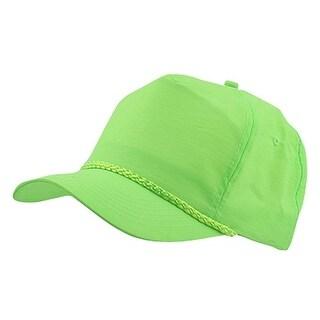 Nylon Crinkle Golf Cap - Neon Green - Neon Green