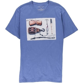 Nautica Mens Cotton Short Sleeves T-Shirt - XL