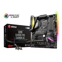 MSI Motherboard Z370 GAMING PRO CARBON AC Intel Z370 ATX 64GB DDR4 SOCKET 1151 PCI Express Retail