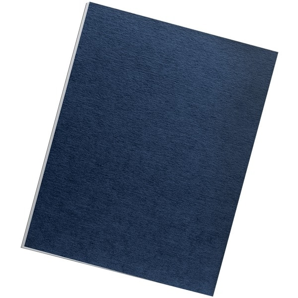 Fellowes 52098 Expression Linen Presentation Covers , Letter, 200Pk (Navy)