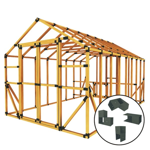 Shop Build Your Own E Z Frame 10x16 Standard Chicken Coop And Run