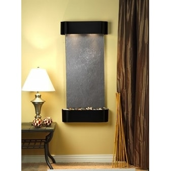Adagio CSR1511 Cascade Springs - Black Featherstone Wall Fountain
