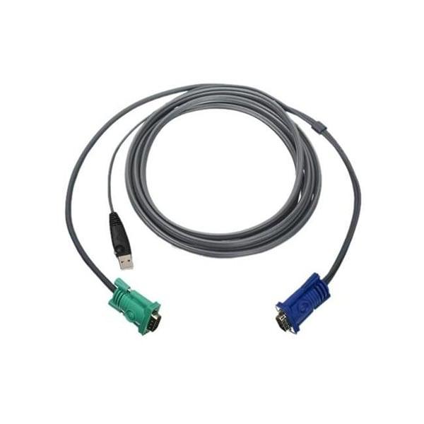 IOGEAR G2L5203U USB KVM Cable 10 Ft