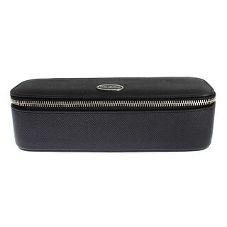 Dolce & Gabbana Black Leather Jewelry Sunglasses Case Box Bag Organizer