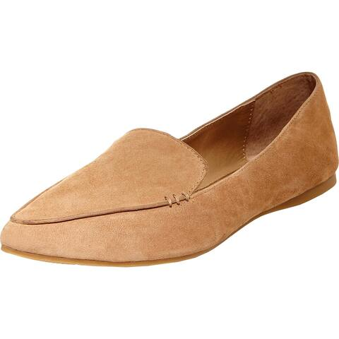 Steve Madden Womens Feather Loafers