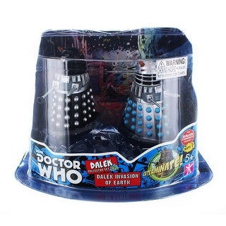 "Doctor Who 3.75"" Action Figure Set #2: ''Dalek Invasion of Earth'' - multi"