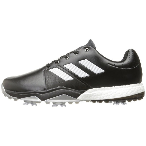 Adidas Men's Adipower Boost 3 Core Black/White/Silver Met. Golf Shoes Q44757 / Q44763. Opens flyout.