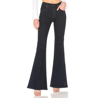 Citizens of Humanity Chloe High-Rise Pinstriped Flare Jeans