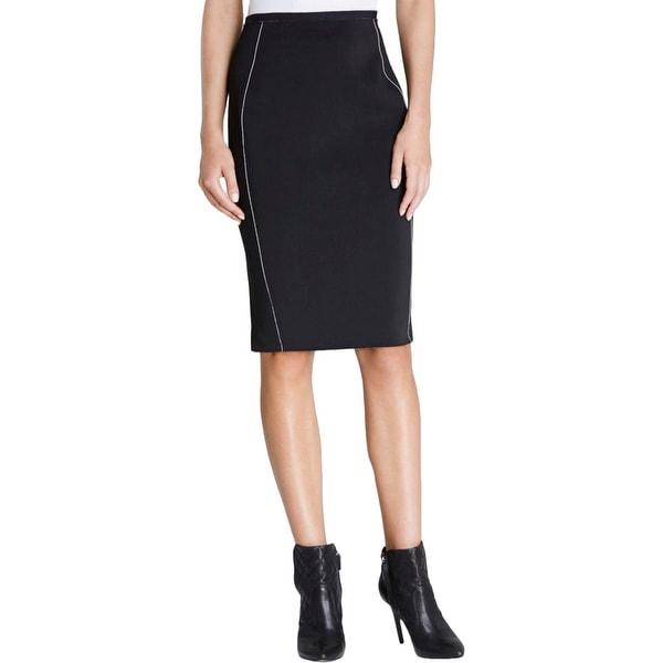 cf250ab2c Shop Elie Tahari Womens Kim Pencil Skirt Scuba Reversible - Free ...