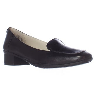 Anne Klein Daneen Slip-On Dress Loafers - Black