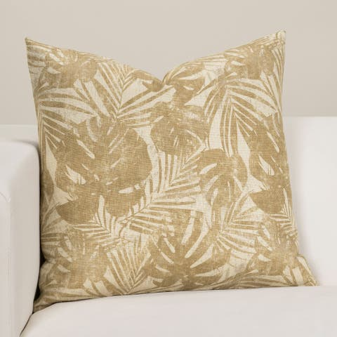 Barbados Tropical Throw Pillow