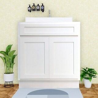 Link to Vanity Art 24-inch Solid Wood Single Sink Bathroom Vanity Cabinet Similar Items in Sinks