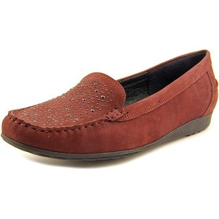 Ara Newport Round Toe Leather Loafer