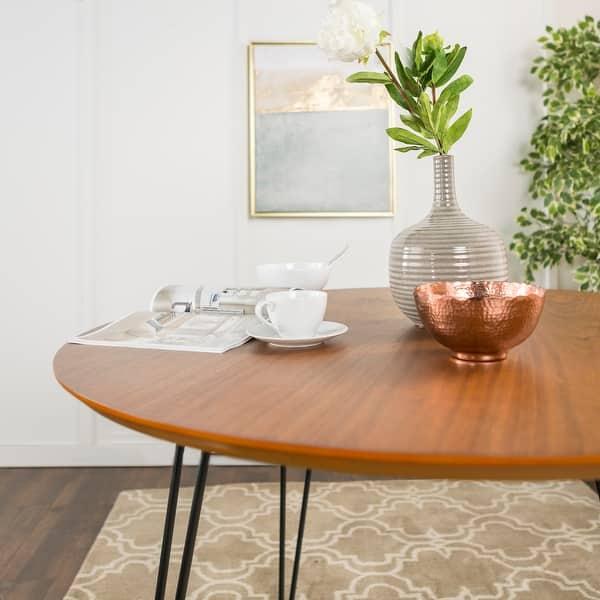 Carson Carrington Charlottenberg 46 Inch Round Walnut Dining Table On Sale Overstock 23122802