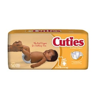 First Quality Products CR1001 Size 1 Baby Diapers, 200 Per Case