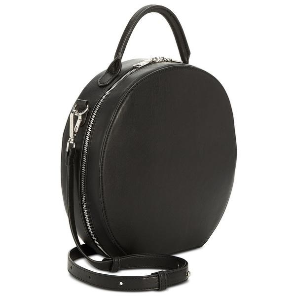 1b5063eec73 Steve Madden Jill Circle Hat Box Small Crossbody Bag Black - One Size