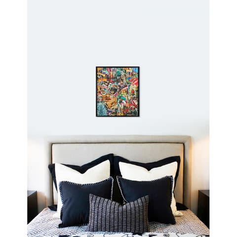 Oliver Gal 'Katy Hirchfeld - ComeAsYouAre' Fashion Framed Wall Art