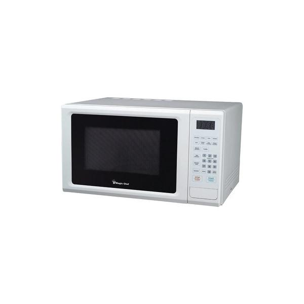 Magic chef mcm1110w 1.1 cf cntertop microwave wht