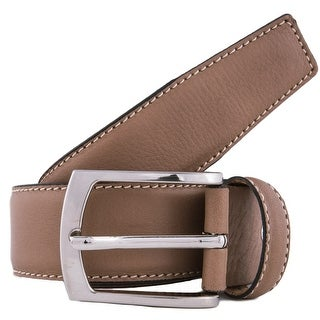 Romeo Gigli K063/35 Taupe Leather Adjustable Belt