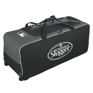 Louisville Slugger Series 5 Ton Wheeled Bag-Black - WTL9503BL