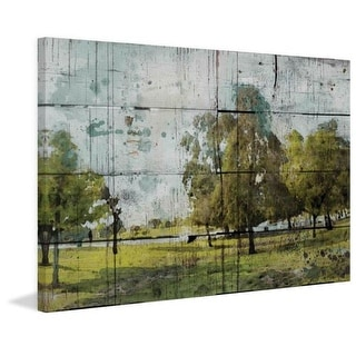Marmont Hill Green Park Irena Orlov Painting Print on Canvas