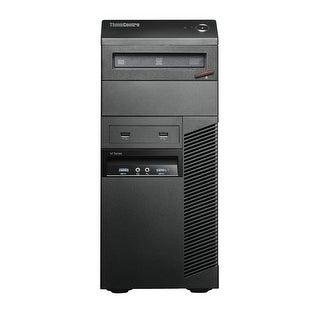 Lenovo ThinkCentre M83 Computer Tower Intel Core I7 4770 3.4G 8GB DDR3 1TB Windows 10 Pro 1 Year Warranty (Refurbished) - Black