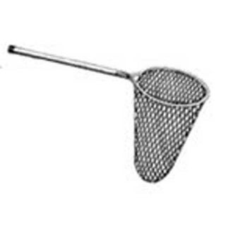 Mid Lakes White Nylon Pear Landing Net 20x30