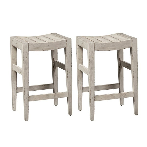 Color Nook Whitestone Counter Height Barstools (Set of 2). Opens flyout.