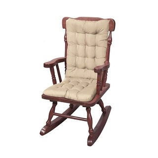 Miles Kimball Rocking Chair Cushions   2 Piece Set With Securing Ties