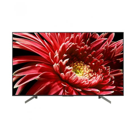 "Refurbished Sony 75"" Class 4K (2160P) UHD HDR Android Smart LED TV - Black - 75"
