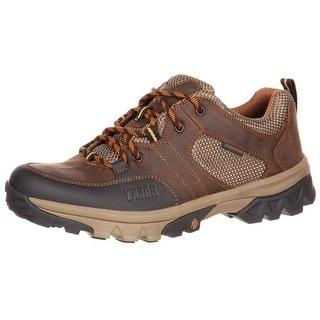 Rocky Outdoor Shoe Mens Endeavor Point Waterproof Oxford Brown RKS0296