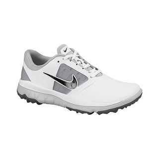Nike Women's FI Impact White/Grey/Black Golf Shoes 611509-103/612661