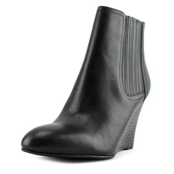 Sam Edelman Gillian Women Pointed Toe Leather Black Bootie