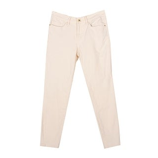 Tommy Hilfiger Ivory Greenwich Midrise Ankle Jeans