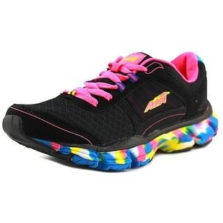 Avia Avi-Play Youth Round Toe Synthetic Black Running Shoe