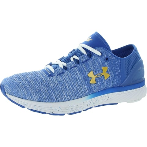 Under Armour Mens Running Shoes Knit Workout - Blue/White/White - 8.5 Extra Wide (2E)
